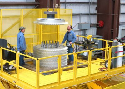 Industrial Gas Turbine and Process Equipment Rotor Repair and Overhauls